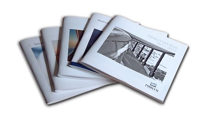 Grafica e stampa eurographic studio for Ferretti arredamenti imola